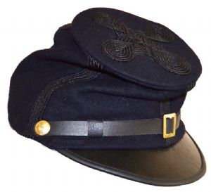 Union General's Or Colonel's Blue Forage Cap [5 Lines Of Braid]